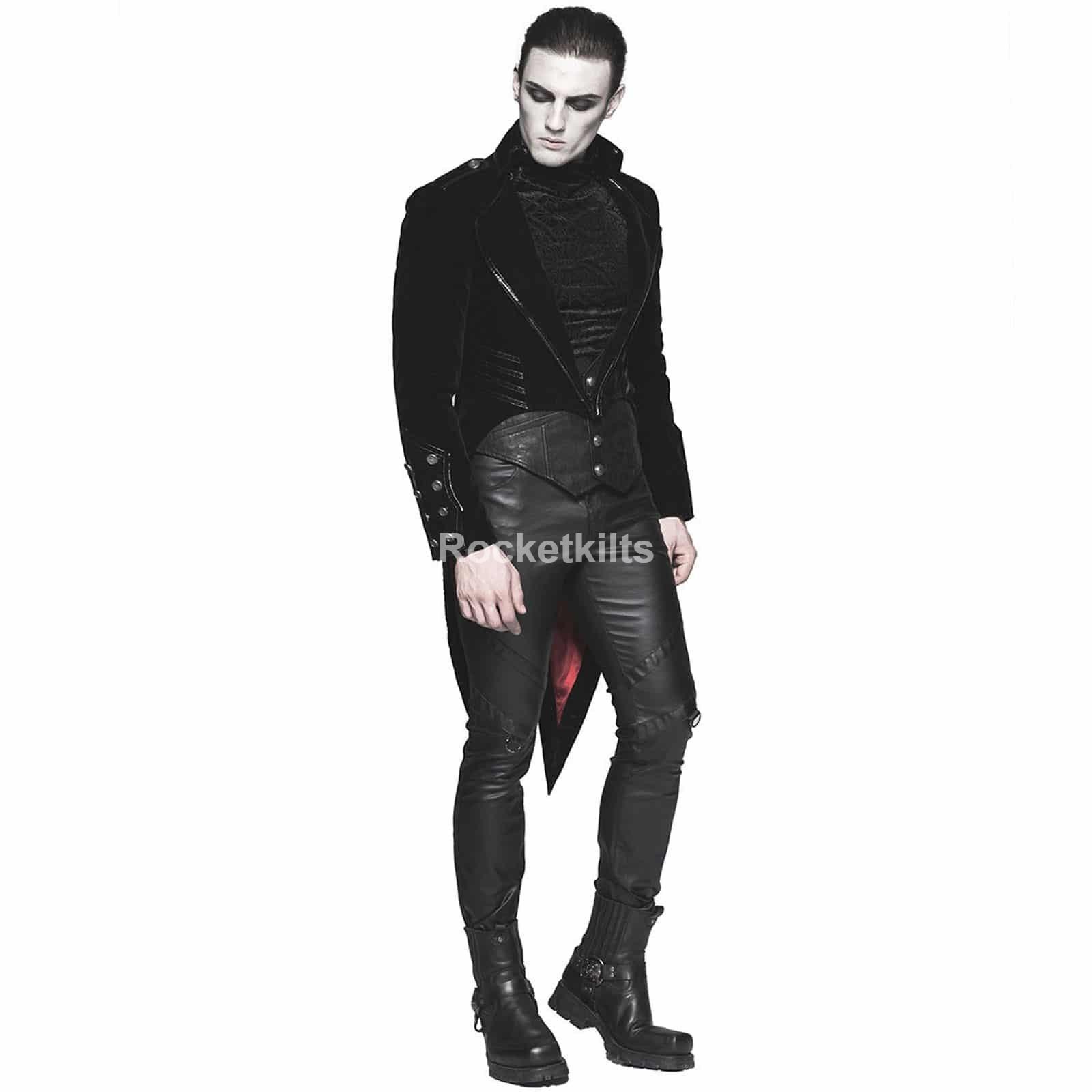 Black Suede Suit Jacket